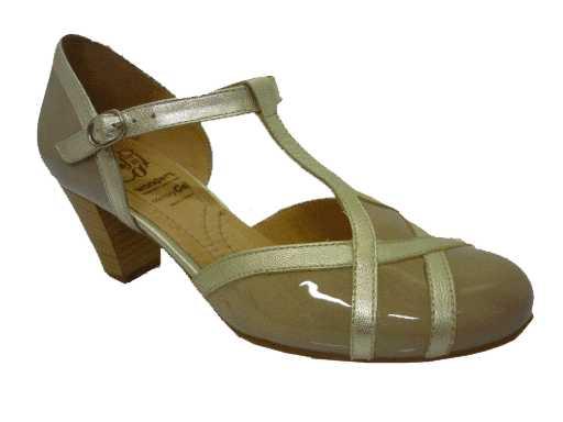 schoen van  wonders artikel: i4604 taupe