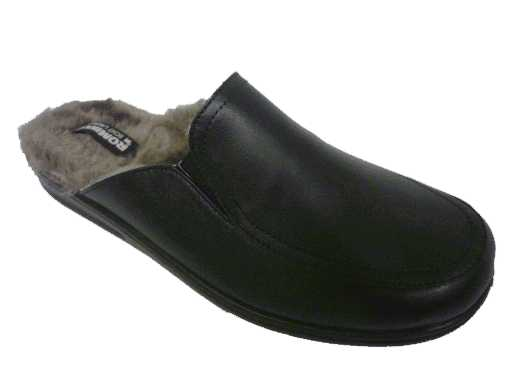 pantoffel leder van  romika artikel: 7306296100 zwart