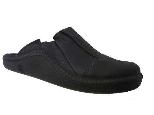 pantoffel leder van  romika artikel: 7108815100 zwart