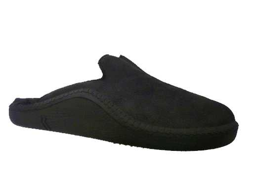 pantoffel leder van  romika artikel: 7110078100 zwart