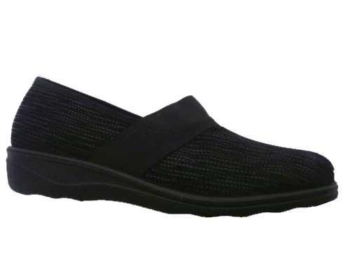 pantoffel stof van  romika artikel: 6736670100 zwart