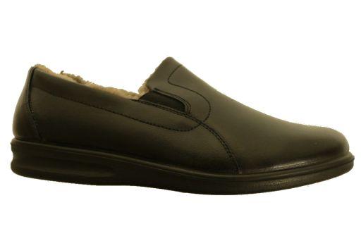 pantoffel leder van  romika artikel: 7301749100 zwart