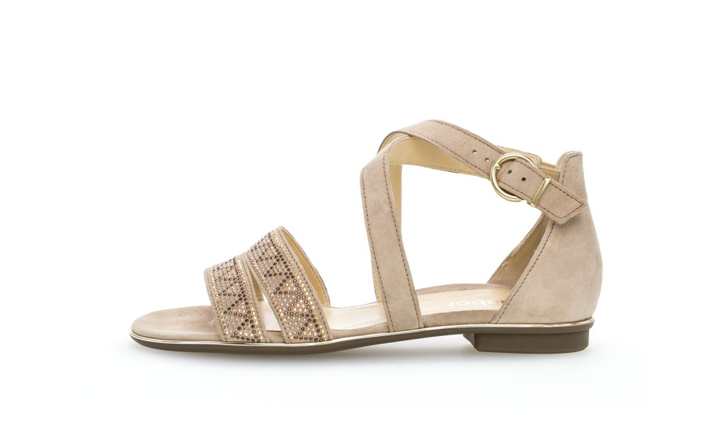 sandaal van  GABOR artikel: 8160112 camel F