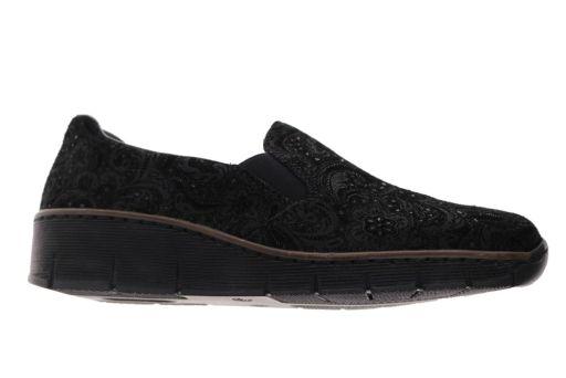 schoen van  rieker artikel: 5376605 zwart