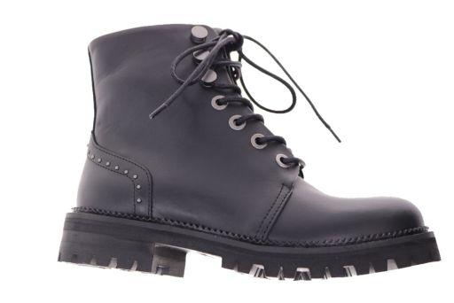 hoge schoen van  hip artikel: d147718410le zwart