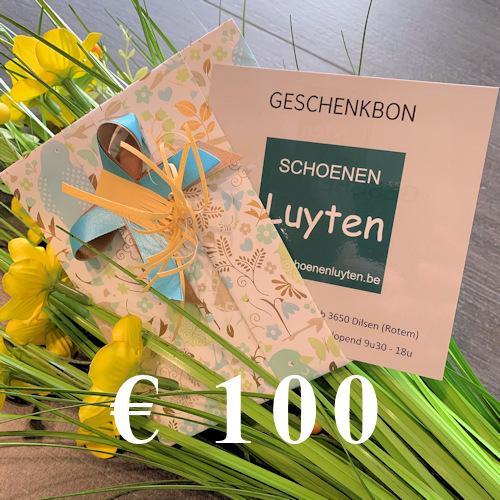 geschenkbon €100