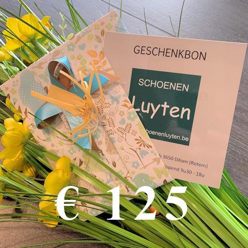geschenkbon €125