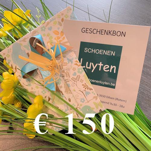 geschenkbon €150