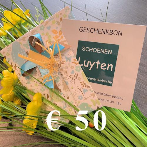 geschenkbon €50